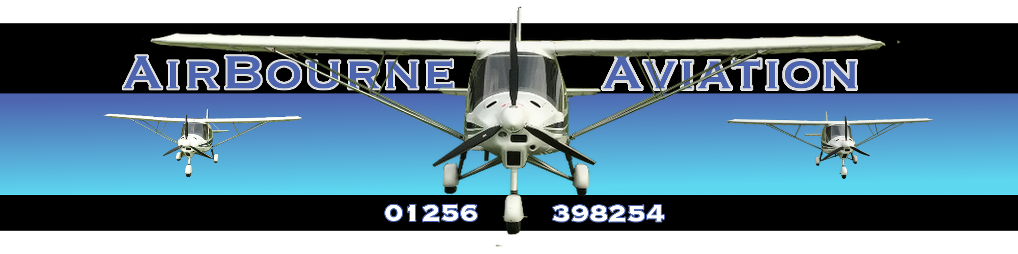 Airbourne Aviation Flying School at Popham Airfield in Hampshire