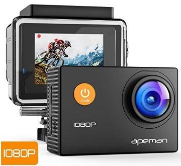 GoApe camera for recording in flight video
