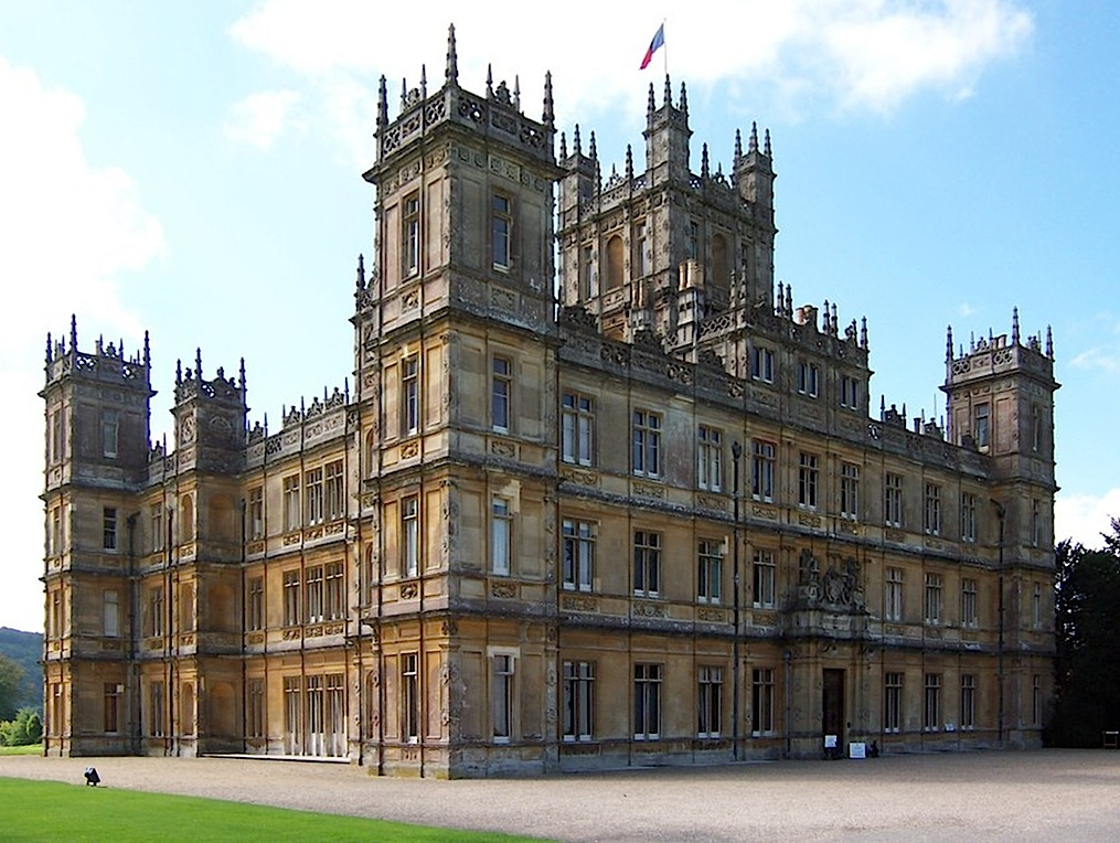 Top 10 places to fly to - Highclere Castle