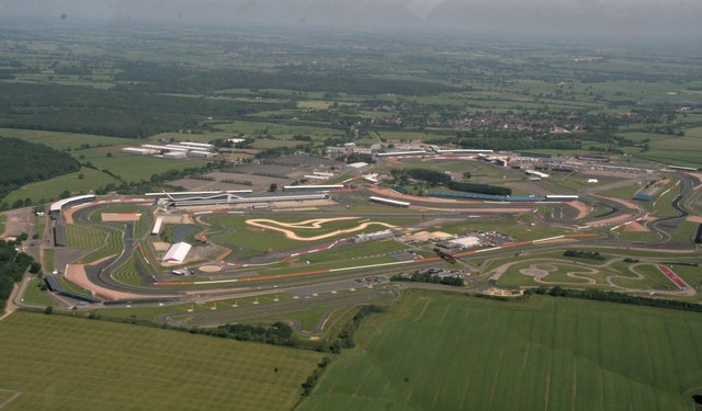 Top 10 places to fly to - Silverstone Circuit