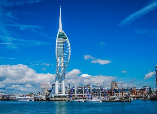 Top 10 places to fly to - Spinnaker Tower