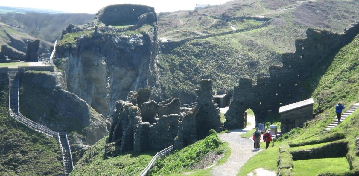 Top 10 places to fly to - Tintagel Castle