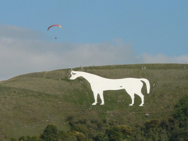 Top 10 places to fly to - Westbury White Horse
