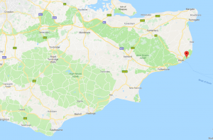 white-cliffs-of-dover-map - AirBourne Aviation