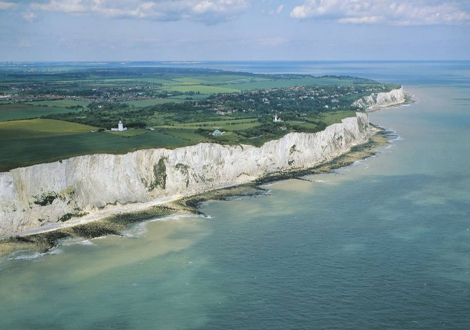 Top 10 places to fly to - White Cliffs of Dover