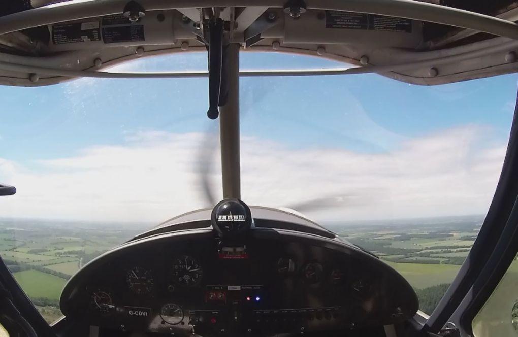 Take off popham