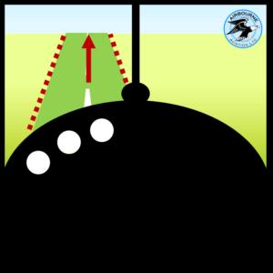 Rudder control during landing