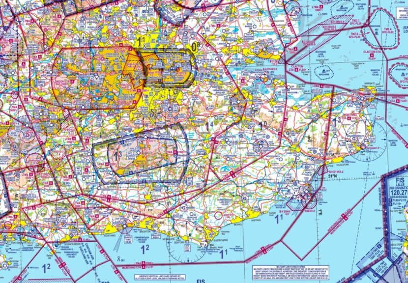 Example UK VFR Chart