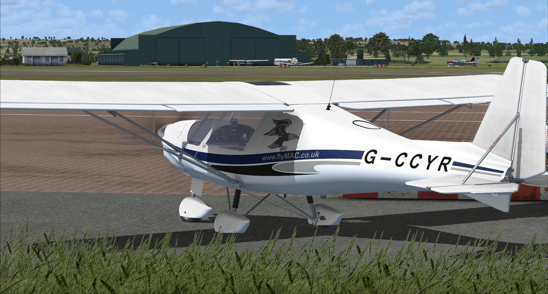 Ikarus C42 for FSX and Prepar3D
