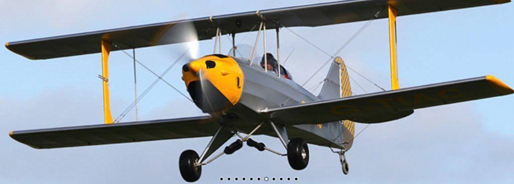Ranger ST Biplane Microlight
