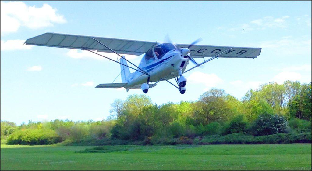 Ikarus C42 fixed wing microlight