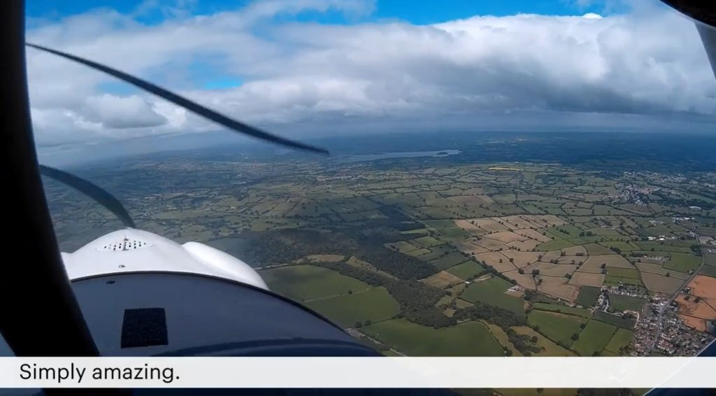 A view of Bristol from the air