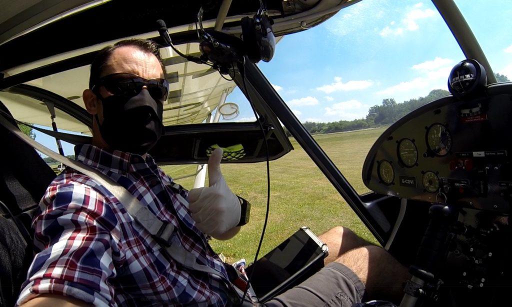 PPE for flying in lockdown