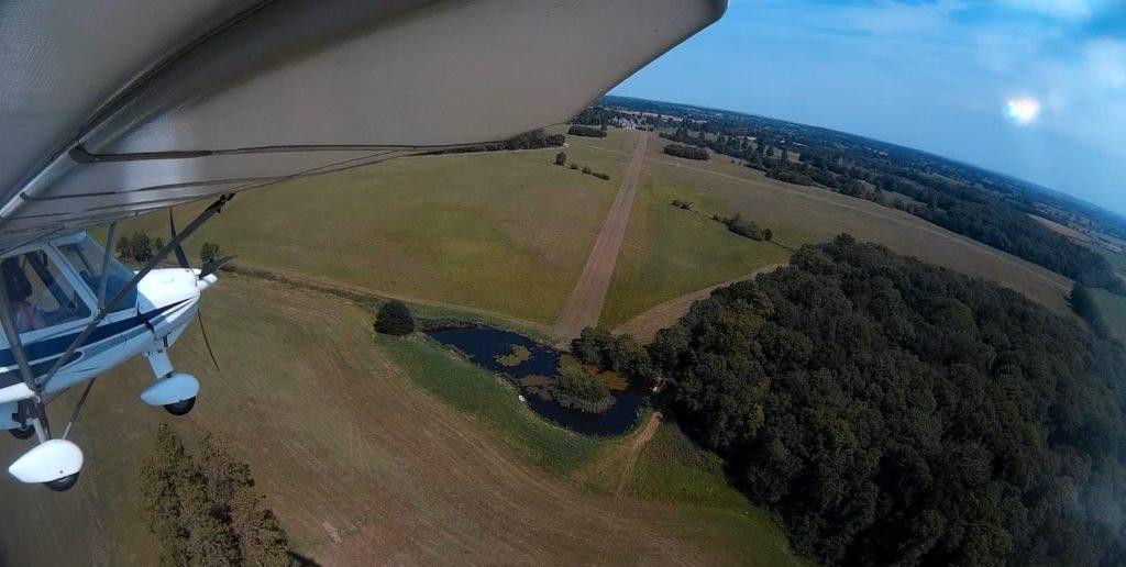 Landing at Charlton Park