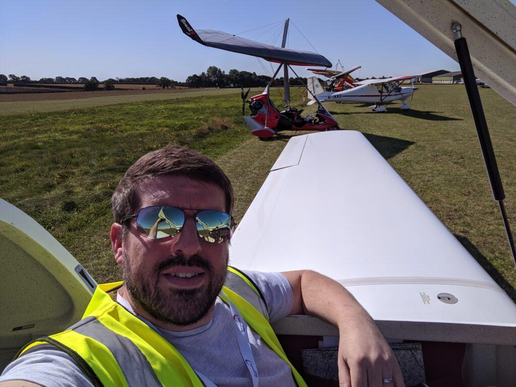 Rob Holmes Microlight Pilot