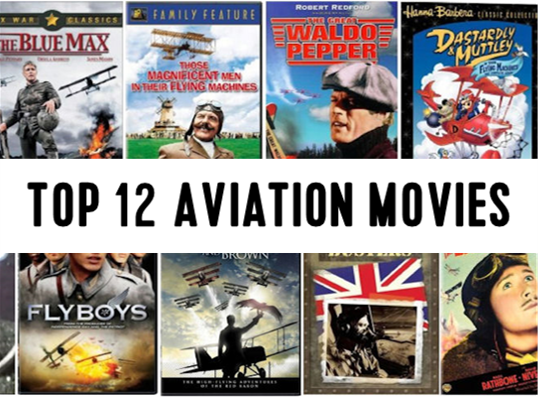 Top 12 aviation movies