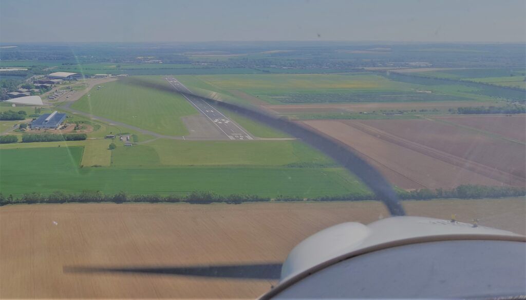 Arrival at Duxford