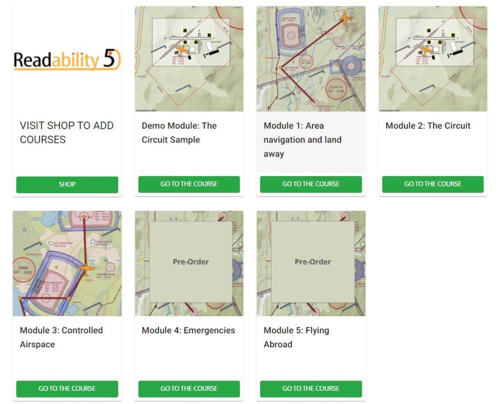 Readability5 modules