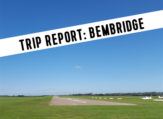 Bembridge runway 30